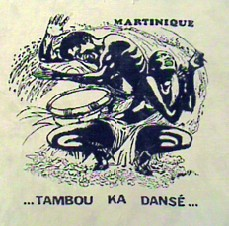 Drumming Is Dancing: Inspiration from a Martiniquen Shirt