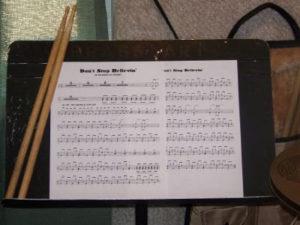 Reading Drum Music