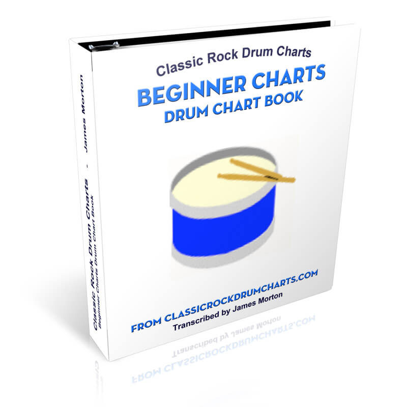 Beginner Charts | Classic Rock Drum Charts