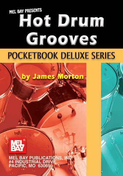 Hot Drum Grooves Pocketbook-by James Morton
