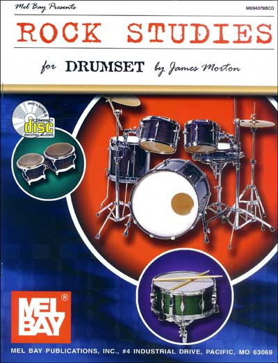 Rock Studies for Drumset-by James Morton