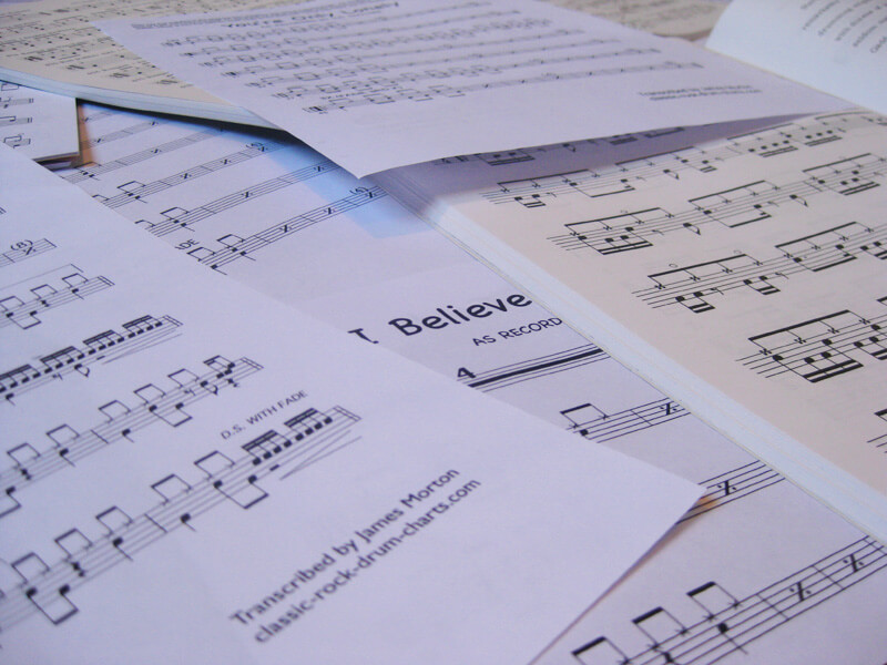 Free Drum Sheet Music